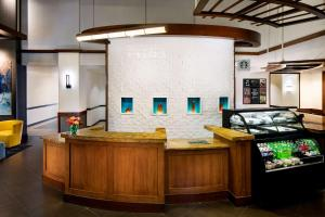 The lobby or reception area at Hyatt Place Dallas Park Central