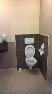 A bathroom at la grange de loghju