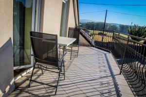 Balkón alebo terasa v ubytovaní Ubytovanie Pri Ceste