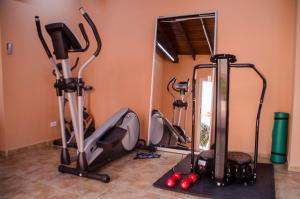 The fitness center and/or fitness facilities at Family-Flexication-Friendly Villa, few steps from Eagle Beach