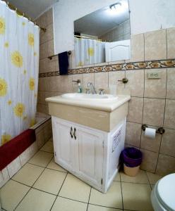 A bathroom at Mayra's Apartments and Spanish School
