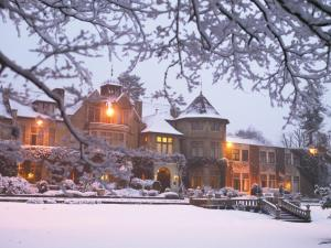 Macdonald Frimley Hall Hotel & Spa during the winter