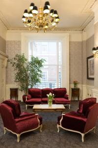 A seating area at Albany House