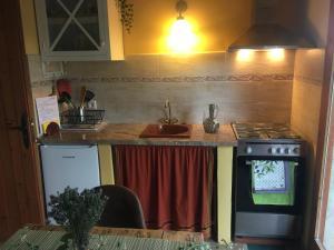Una cocina o zona de cocina en Mas de Caret Agroturisme