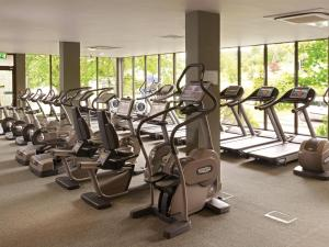 The fitness center and/or fitness facilities at Macdonald Inchyra Hotel & Spa