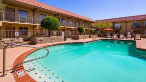 The swimming pool at or near Best Western Airport Inn