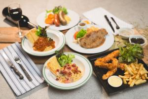 Lunch and/or dinner options available to guests at River Kwai Hotel