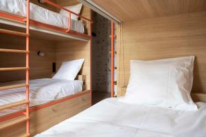 Кровать или кровати в номере Central Hostel Bordeaux Centre