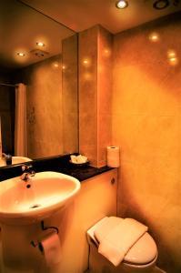 Ένα μπάνιο στο Westbury Hotel Kensington