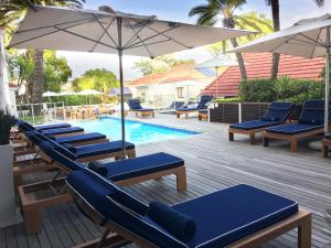 The swimming pool at or near The Glen Boutique Hotel & Spa