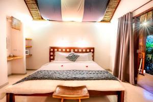 Cama o camas de una habitación en Manta Dive Gili Air Resort