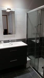 Een badkamer bij Le Florence