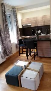 Een keuken of kitchenette bij Le Florence