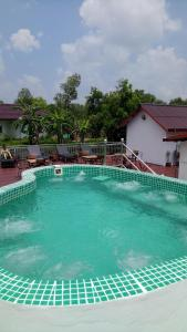 The swimming pool at or near Bohemiaz Resort and Spa Kampot