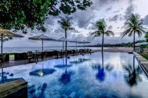 The swimming pool at or close to Bali Garden Beach Resort