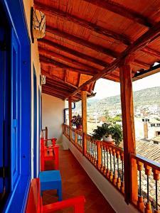 Balcon ou terrasse dans l'établissement Meraki Boutique Hostel