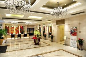 منطقة الاستقبال أو اللوبي في Howard Johnson Huaihai Hotel