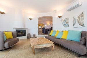 Część wypoczynkowa w obiekcie Villa Valldemossa
