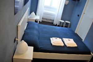 A bed or beds in a room at I Remi Del Prione