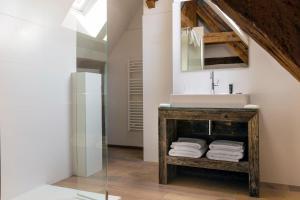 Salle de bains dans l'établissement Le Manoir de la Plage / Adults Only