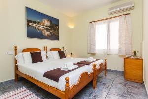 Cama o camas de una habitación en Hostal Doris