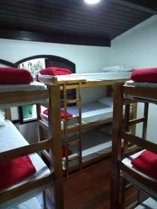 A bunk bed or bunk beds in a room at Hostel Deby Trip