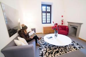 Area soggiorno di Hotel Cavour Et Des Officiers