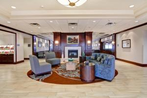 The lobby or reception area at Homewood Suites by Hilton Toronto-Oakville