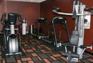 The fitness center and/or fitness facilities at Wind River Hotel and Casino