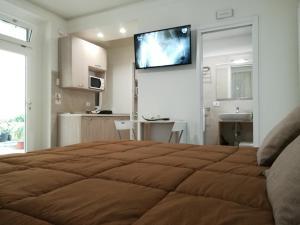 Letto o letti in una camera di Guest House B&B Via Marina