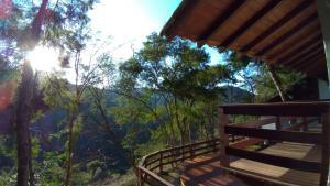 A balcony or terrace at Casa Do Valle