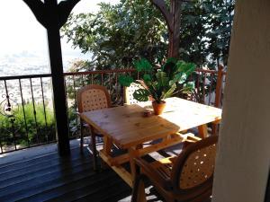 A balcony or terrace at Patriko Village Home