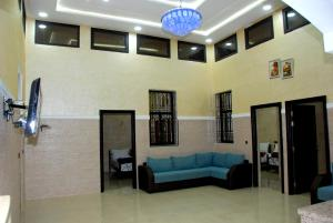 A seating area at Jood