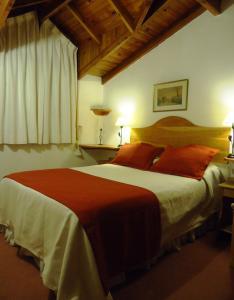 Una cama o camas en una habitación de Departamento Céntrico Villegas