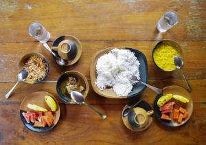 Breakfast options available to guests at Back of Beyond - Pidurangala