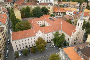 A bird's-eye view of Monastery Boutique Hotel Budapest