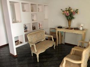 Zona de estar de Casa Villa das Palmeiras