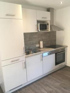 Kuchyňa alebo kuchynka v ubytovaní Haus Gsenger