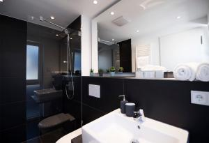A bathroom at Mood contemporary living
