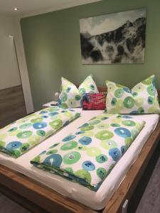 Posteľ alebo postele v izbe v ubytovaní Haus Gsenger