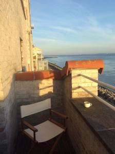 A balcony or terrace at Port Scaldis Apartment