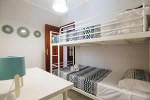 Litera o literas de una habitación en Apartamento centro Gran Poder