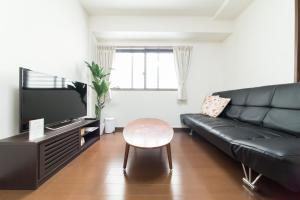 Ein Sitzbereich in der Unterkunft Gion Minami House