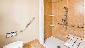 A bathroom at Best Western Plus Muskoka Inn