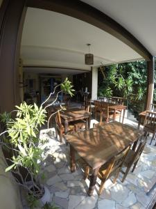A restaurant or other place to eat at Boutique Hotel Gávea Tropical