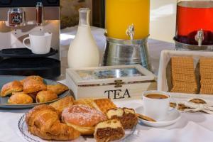 Επιλογές πρωινού για τους επισκέπτες του Ξενοδοχεία Πύργος
