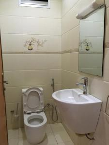 A bathroom at Residence AMAK