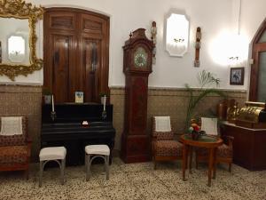 The lobby or reception area at BALNEARIO LA ENCARNACIÓN