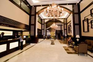 مطعم أو مكان آخر لتناول الطعام في فندق كارلتون تاور