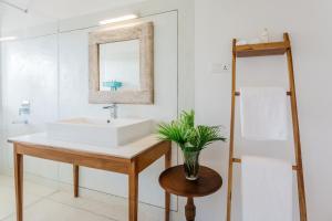 A bathroom at Rukgala